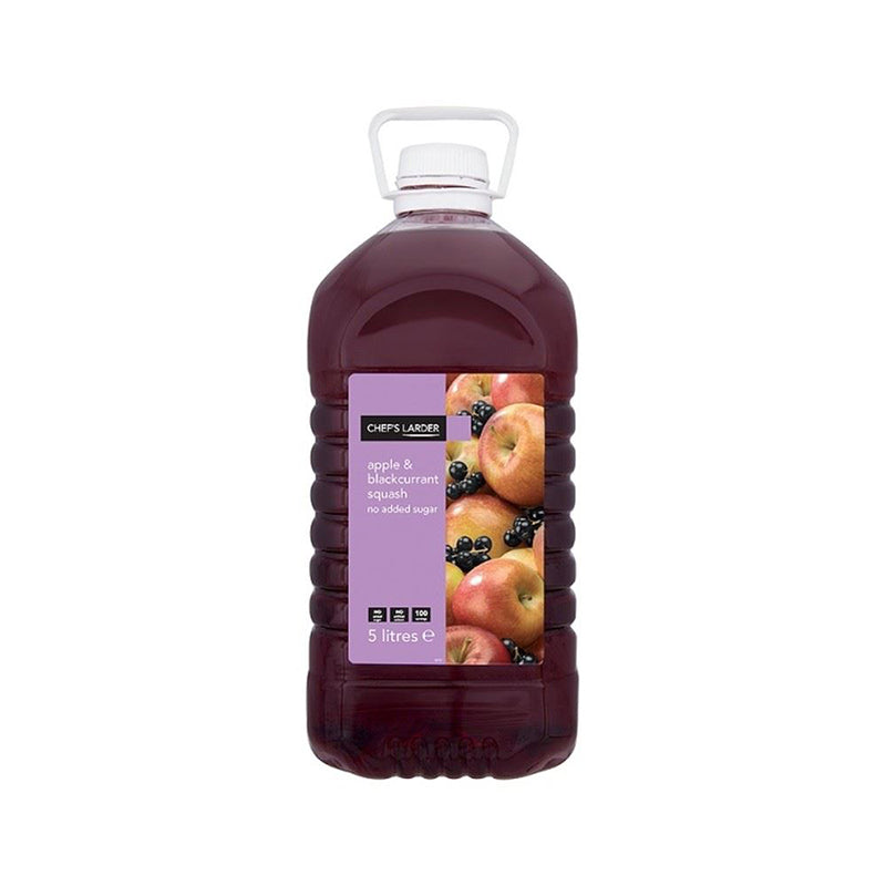 Blackcurrant & Apple Squash 5ltr