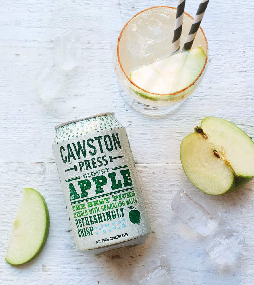 Cawston Press Cloudy Apple Cans 24 x 330ml