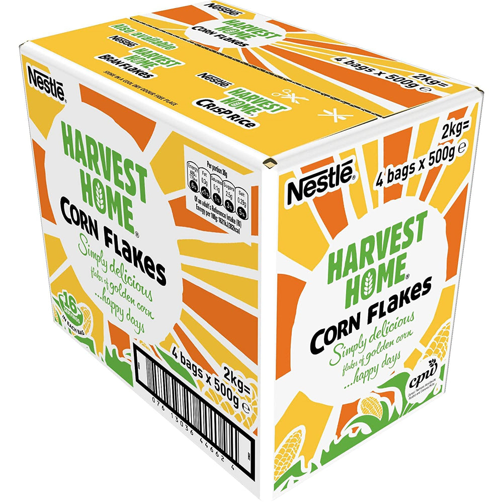 Load image into Gallery viewer, Nestle Harvest Cornflakes 4 x 500g