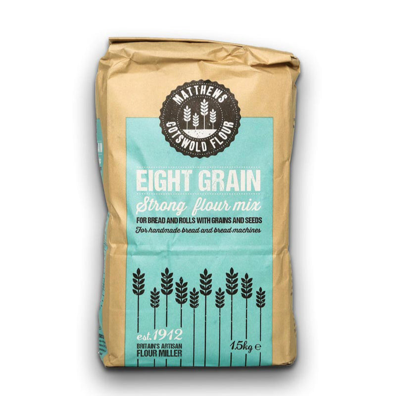 FWP Matthews Cotswold Eight Grain Flour 1.5kg