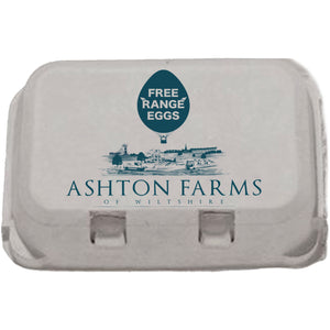 Free Range Medium Eggs - 1 x 6 pack