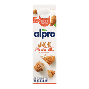 Load image into Gallery viewer, Alpro Unsweetened Almond Milk 1ltr