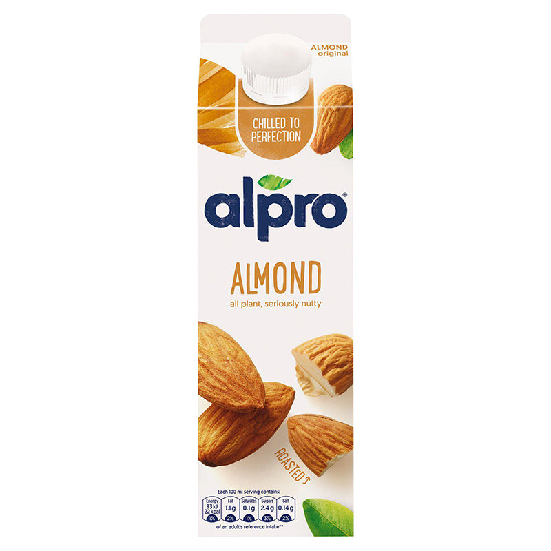 Load image into Gallery viewer, Alpro Sweetened Almond Milk 1ltr