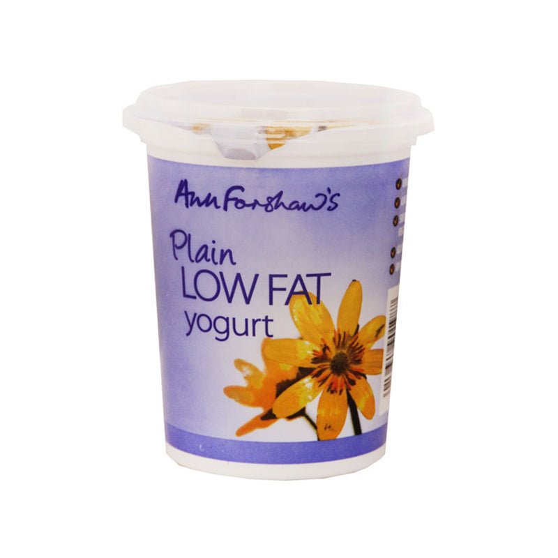 Ann Forshaws Low Fat Natural Yogurt 450g