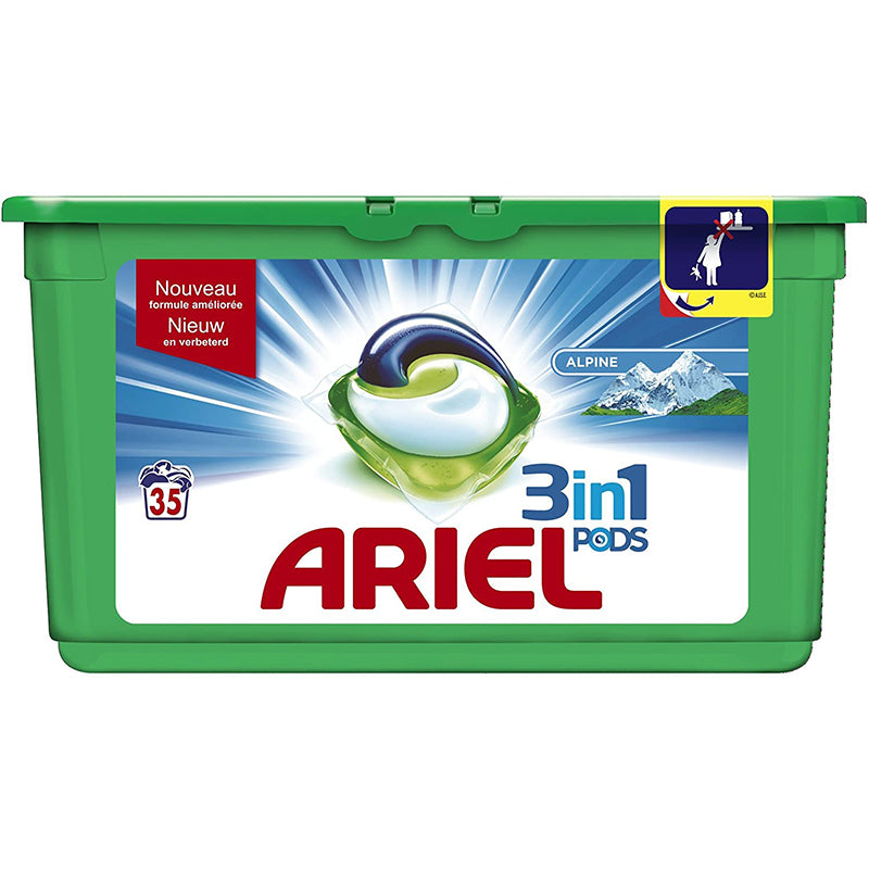 Ariel Original 3 in 1 Liquid Pods 35