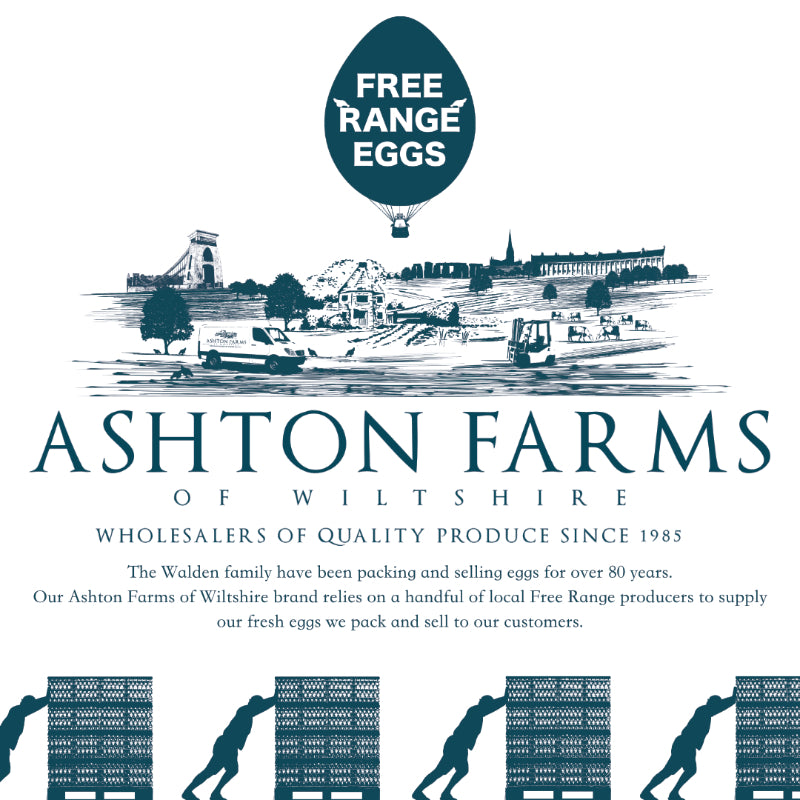 Load image into Gallery viewer, Free Range Medium Eggs - 1 x 6 pack