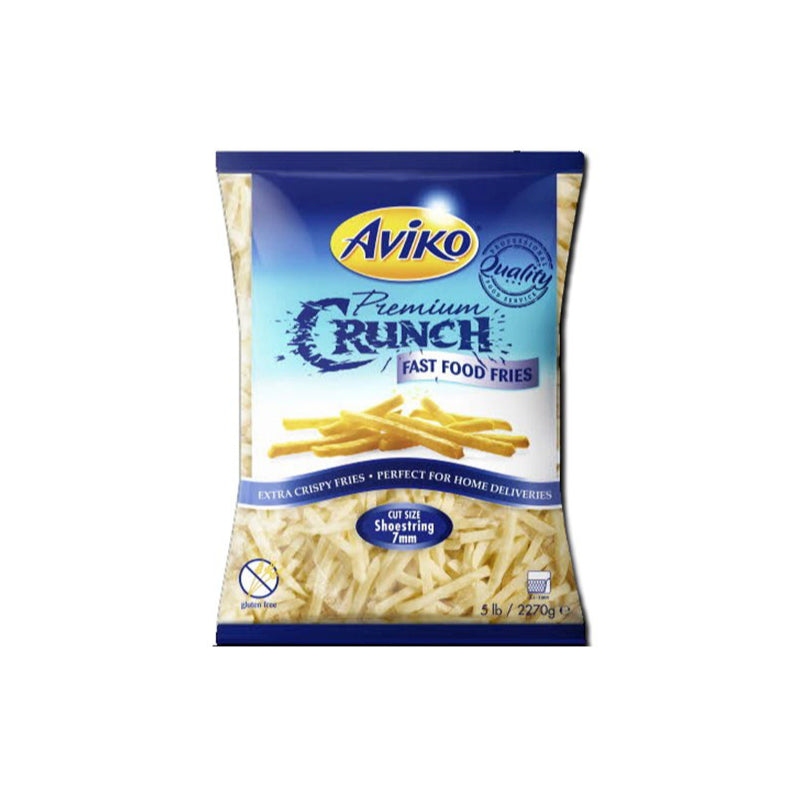 Aviko 7mm Premium Crunch Fries 2.27kg