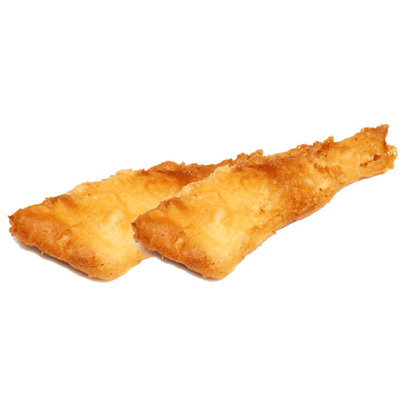 Battered 140g - 170g Frozen Cod Fillets - 1 x 24