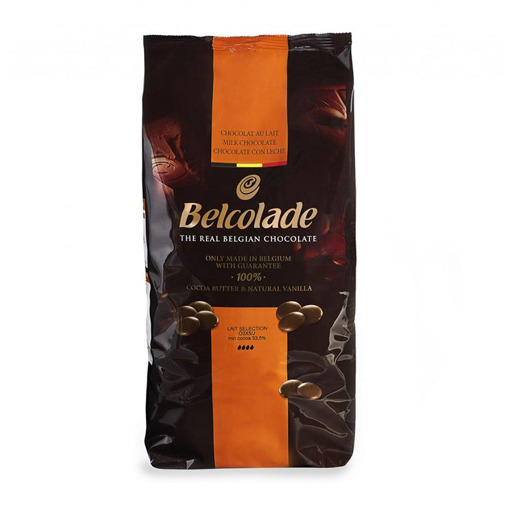 Bellcolade Milk 33.5% Chocolate Buttons 1kg
