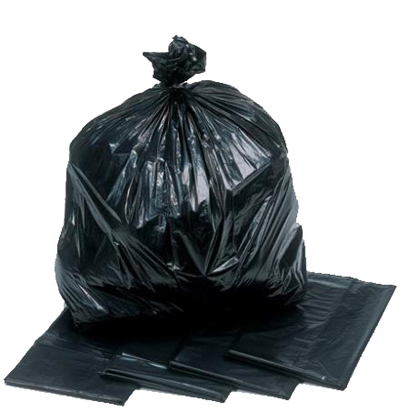 Heavy Duty XL Black Bin Bags 100