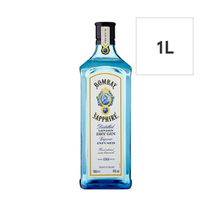 Load image into Gallery viewer, Bombay Sapphire Gin 1L