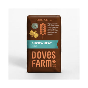 Doves Farm Organic Buckwheat Flour 1kg (Best Before 06/03/2021)