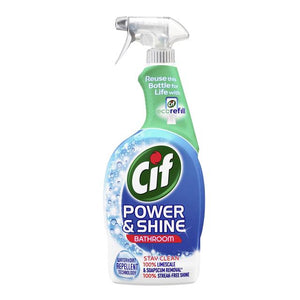 Load image into Gallery viewer, Cif Power & Shine Bathroom Spray 700ml
