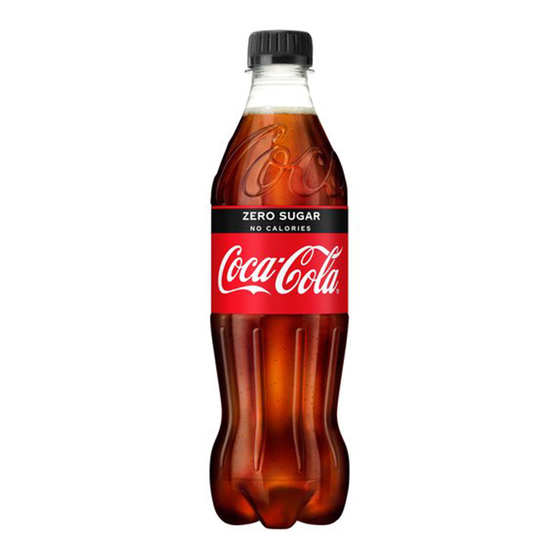 Coke Zero Bottles 12x 500ml