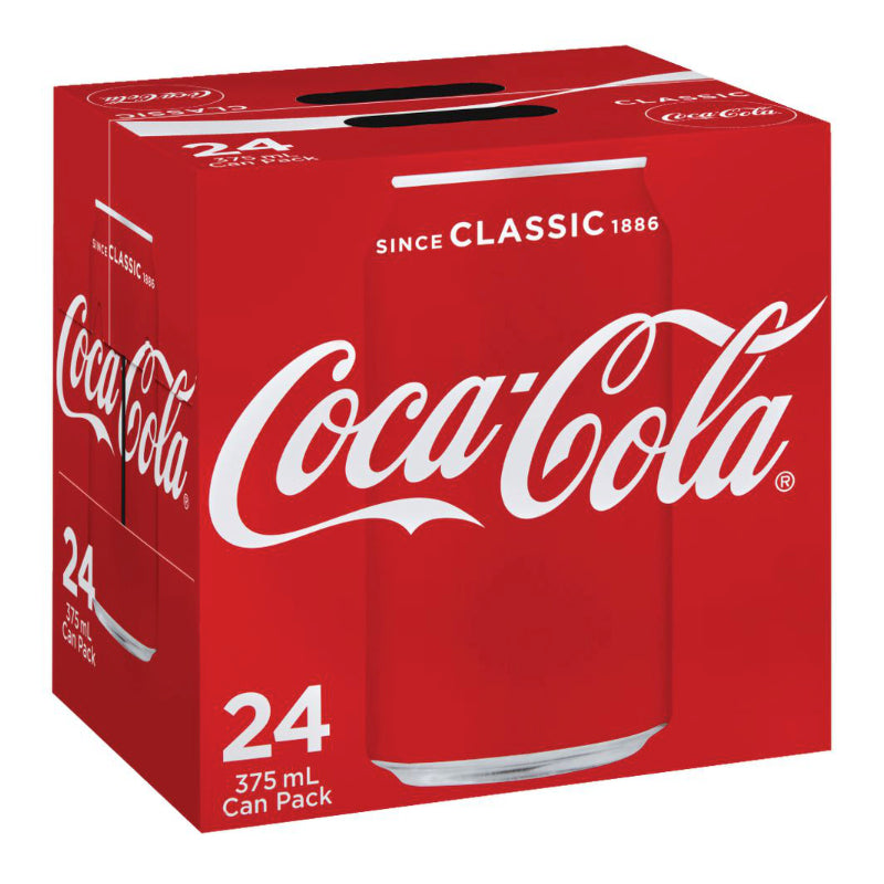 Coca Cola Cans 24 x 330ml Box