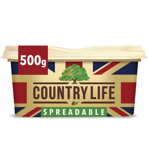 Country Life Spreadable Salted Butter 500g