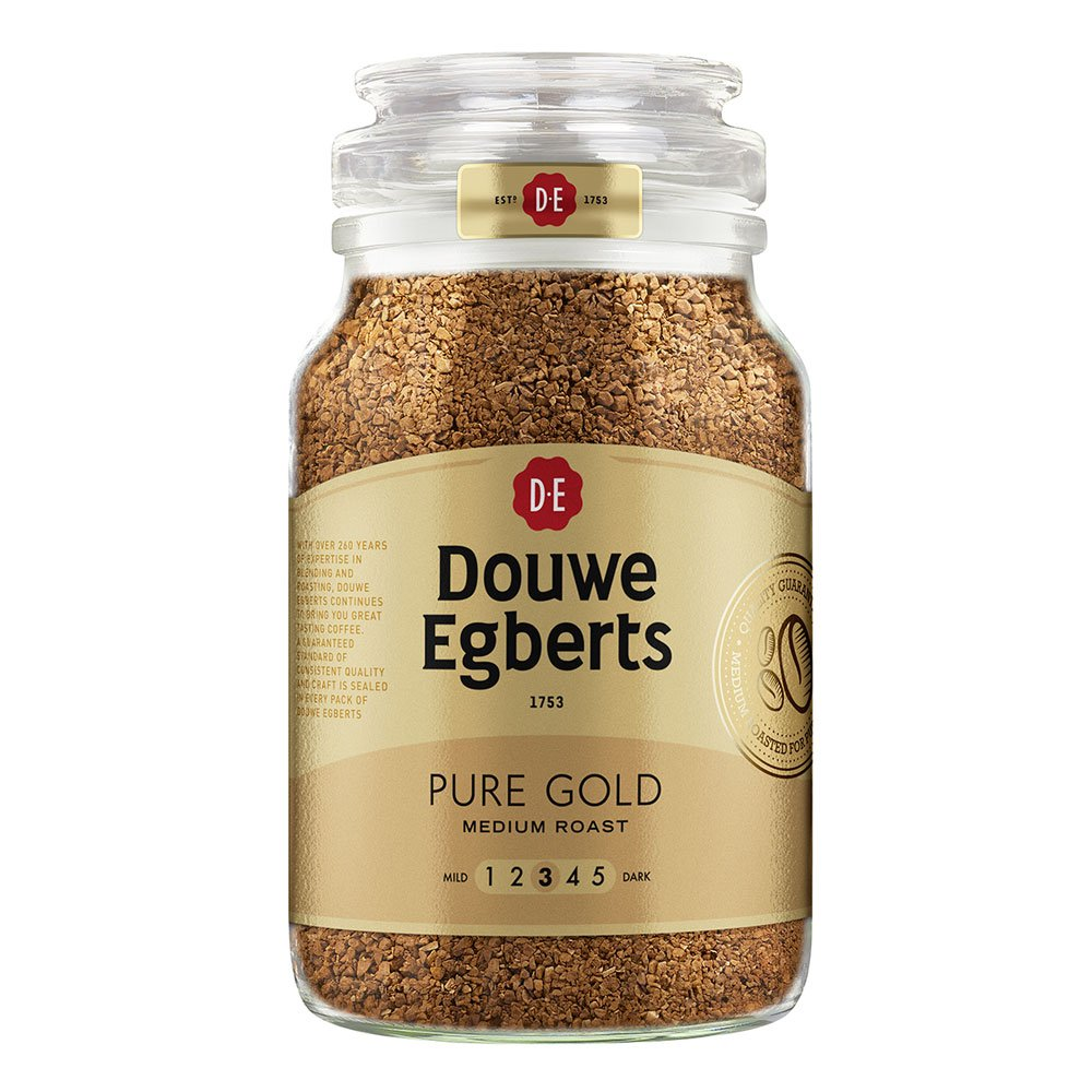 Douwe Egberts Pure Gold Medium Roast Instant Coffee 400g