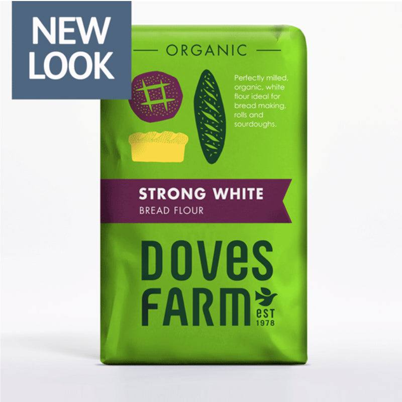 Doves Organic Strong White Bread Flour 1.5kg