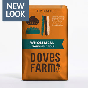 Doves Organic Strong Wholemeal Bread Flour 1.5kg