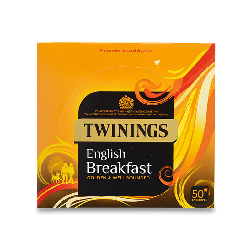 Twinings English Breakfast Envelopes 1 x 50