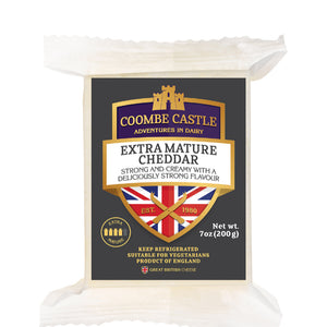 Load image into Gallery viewer, Coombe Castle Extra Mature Cheddar 200g