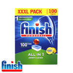 Finish Powerball ALL IN 1 Dishwasher Tablets 1 x 100