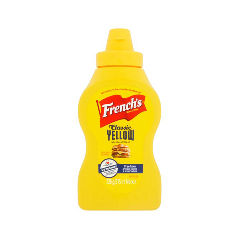 French American Mustard Squeezy 215ml