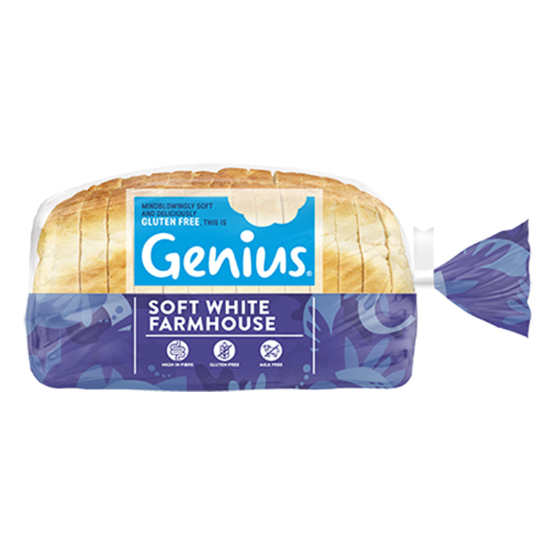 Genius - Gluten Free Sliced White Bread 1 x 535g