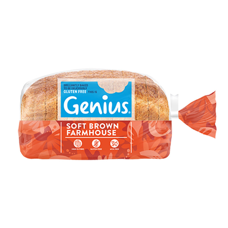 Genius - Gluten Free Sliced Brown Bread 1 x 535g