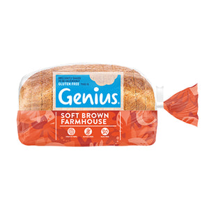 Load image into Gallery viewer, Genius - Gluten Free Sliced Brown Bread 1 x 535g