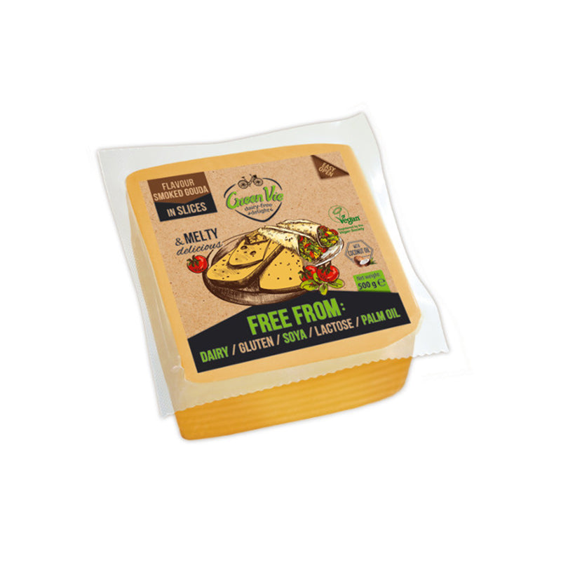 Green Vie Vegan Smoked Gouda Slices 500g