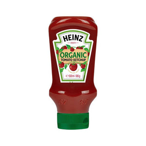 Heinz Organic Ketchup Squeezy 580ml