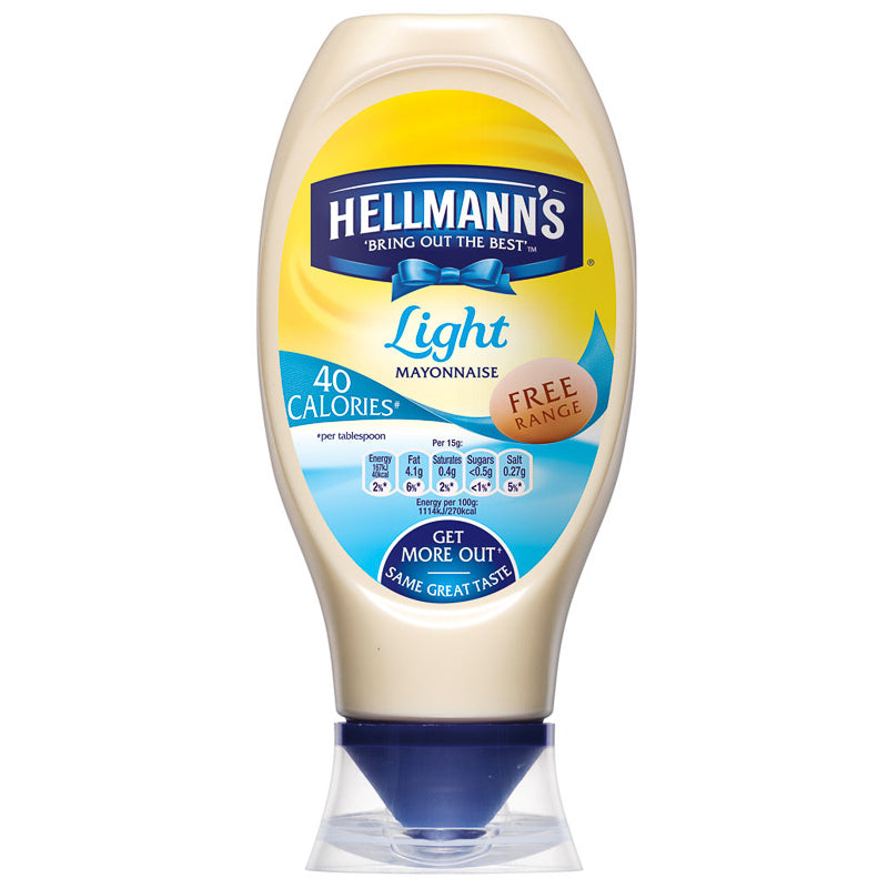 Hellmans Light Mayonnaise 750ml