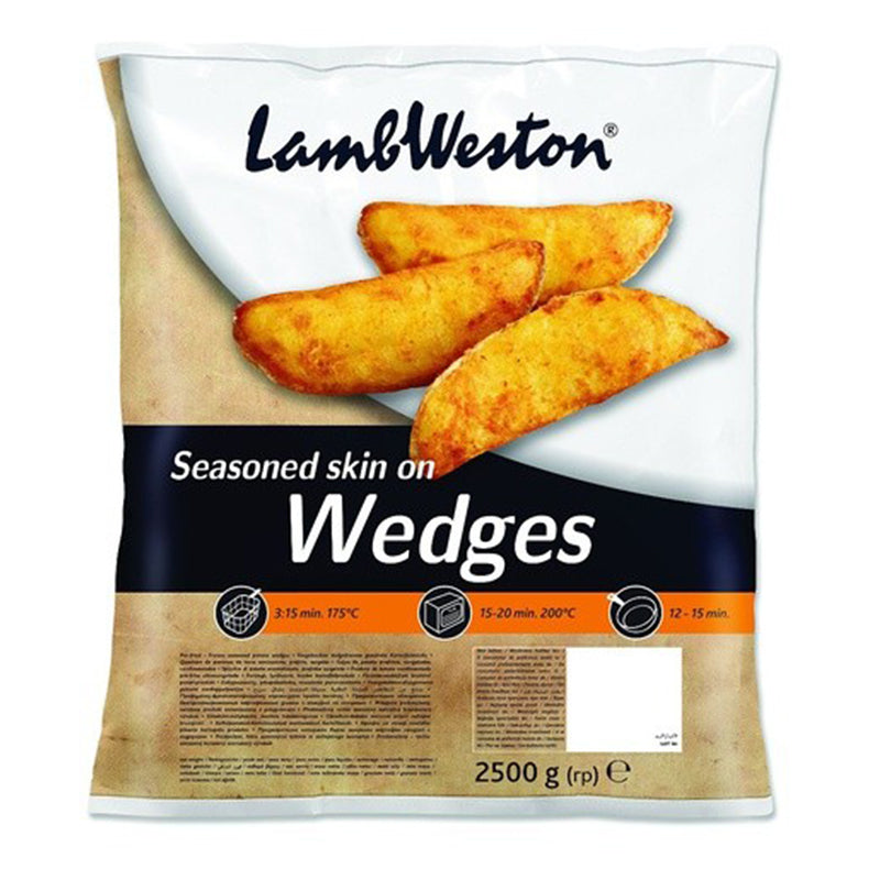 Lamb Weston Seasoned Wedges 2.27kg