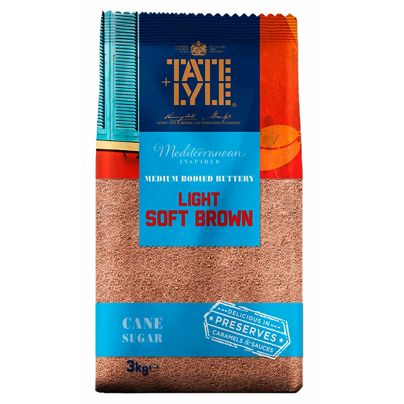 Tate & Lyle Soft Light Brown Sugar 3kg