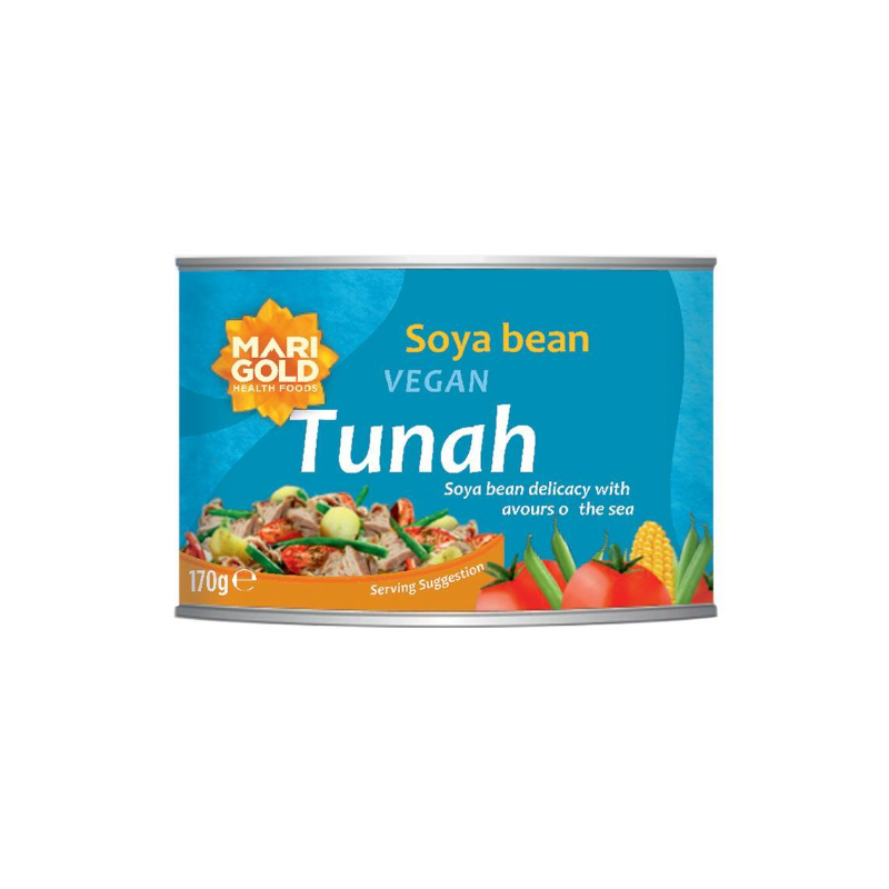 Load image into Gallery viewer, Marigold Vegan Tunah Can 170g