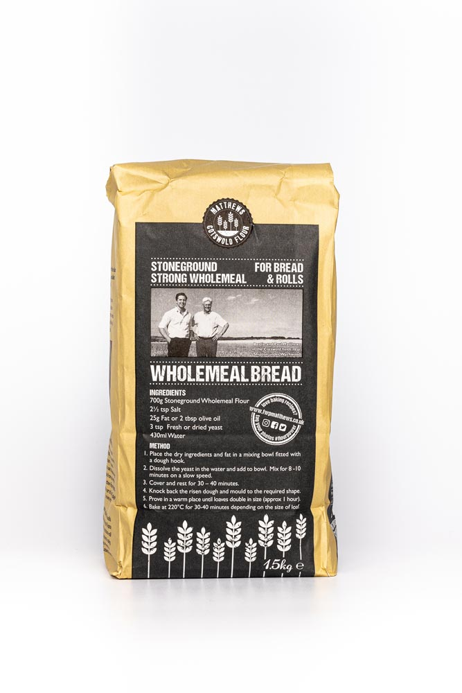 Load image into Gallery viewer, FWP Matthews Stoneground Strong Wholemeal Flour 1.5kg