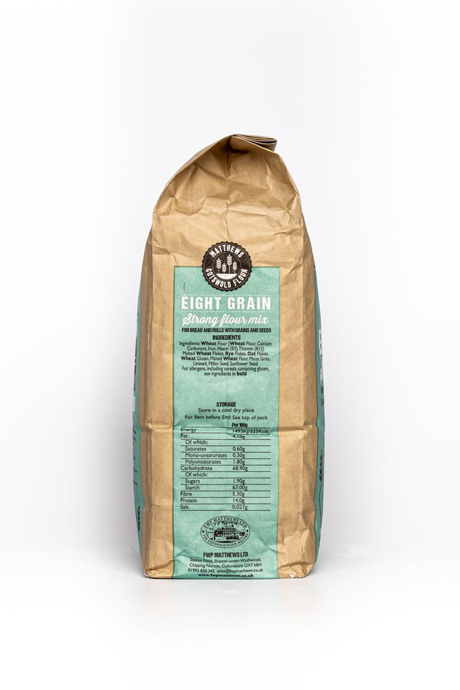 Load image into Gallery viewer, Matthews Cotswold Eight Grain Flour 1.5kg