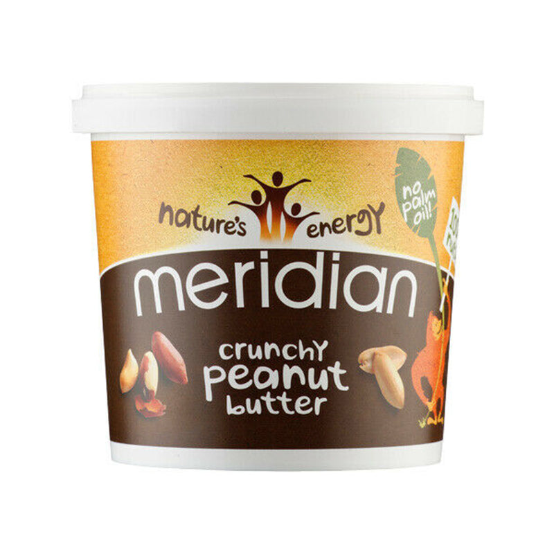 Load image into Gallery viewer, Meridian Crunchy Peanut Butter 1kg