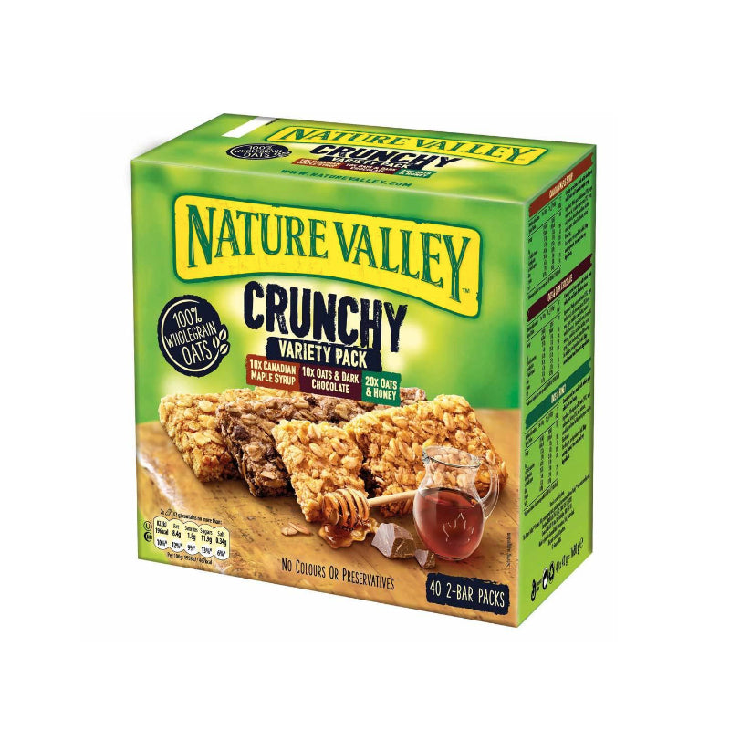 Nature Valley Twin Pack Bars Variety Box 40 x 42g