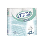 3 Ply Nicky Elite Luxury Toilet Rolls 1 x 4pk