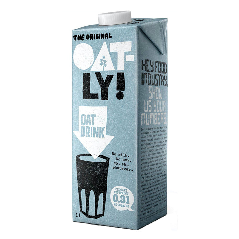 Oatly Enriched Oat Milk 1ltr