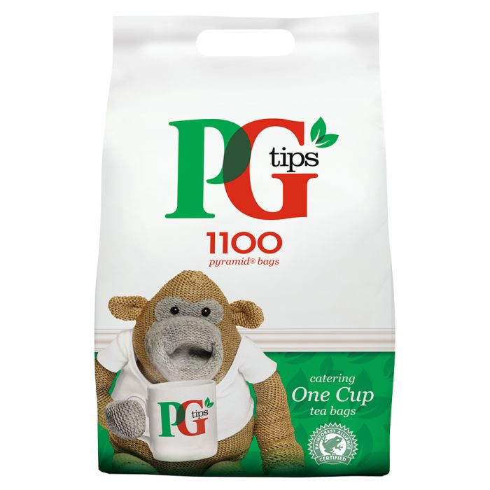 PG Tips Pyramid Tea Bags 1100