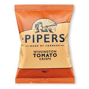 Pipers Wissington Spicy Tomato Crisps 24 x 40g