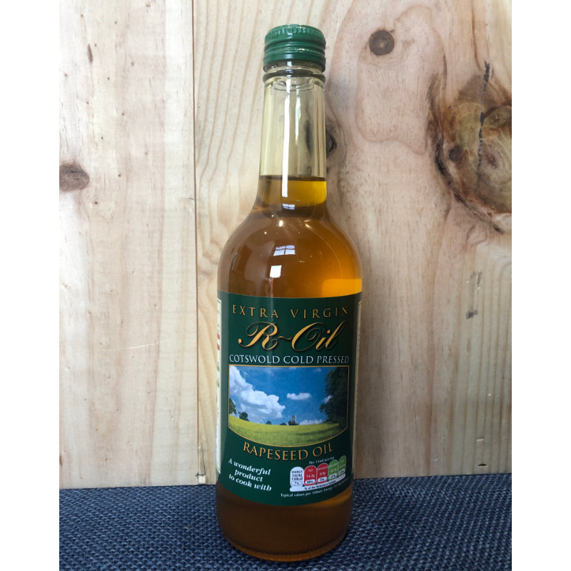 R Oil Extra Virgin Cotswold Rapeseed Oil 500ml