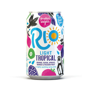 Load image into Gallery viewer, Rio Tropical Light Cans 24 x 330ml