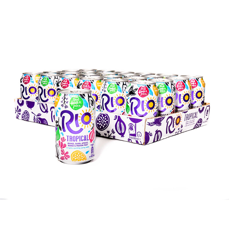 Rio Tropical can 24 x 330ml