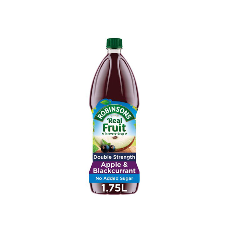 Robinsons Apple & Blackcurrant Double Concentrate 1.75L