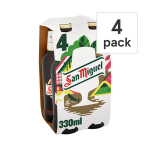 San Miguel 4 x 330ml PM £5.49
