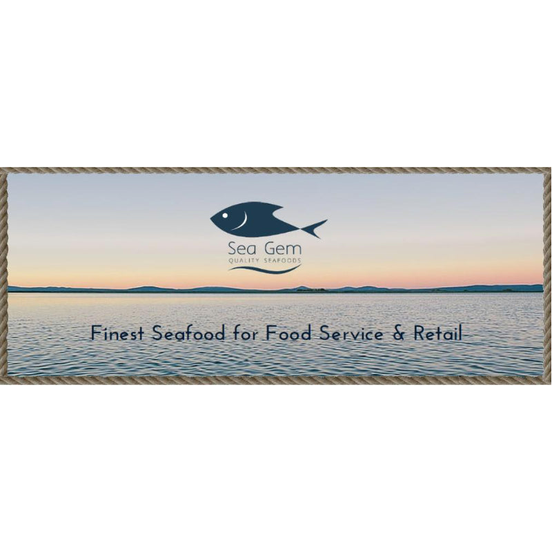 Seagem Frozen North Atlantic Cod Fillets 6oz - 7oz x 20